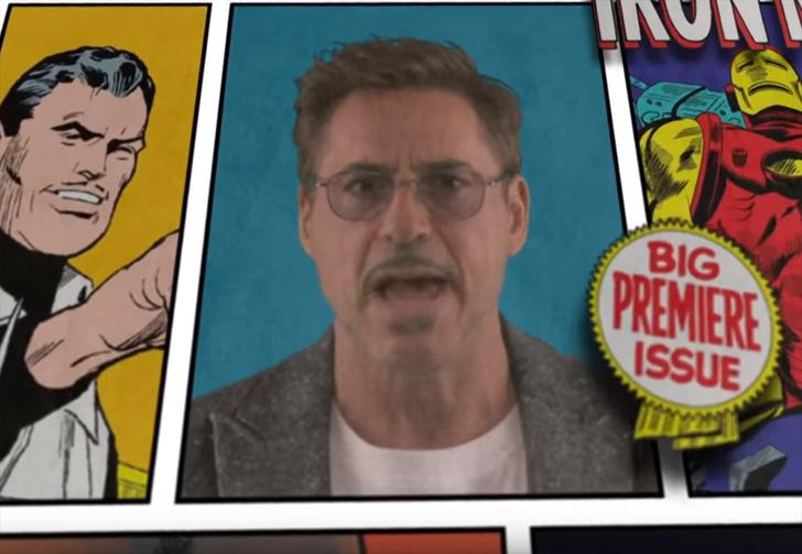 Фото №1 - Актеры из «Мстителей» исполнили песню с кратким пересказом предыдущих фильмов Marvel (видео)