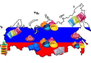 В каком городе России какие виды презервативов пользуются наибольшей популярностью!