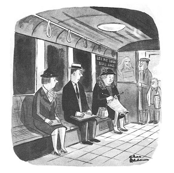 Чарльз Аддамс - карикатура