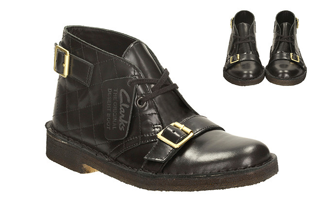 larks: Rebooted Desert Rocker Black Leather