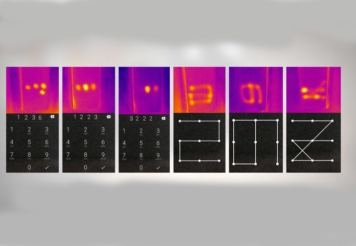 Фото №1 - Пароль от телефона научились взламывать по тепловым отпечаткам