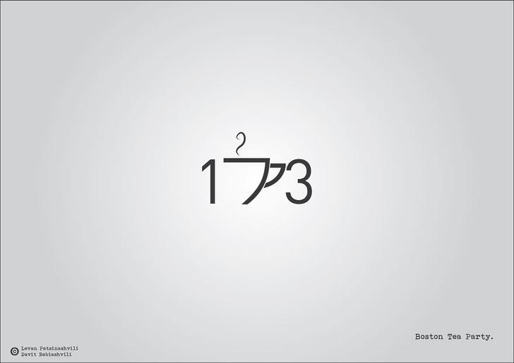 Фото №2 - Исторические даты в минималистичных иллюстрациях