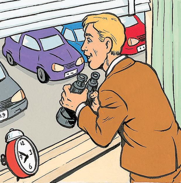 Фото №1 - Еще один нетривиальный способ знакомства: помощь с парковкой