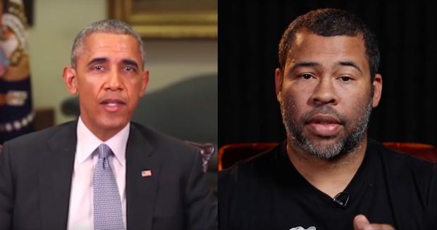 Фото №1 - Ненастоящий Обама назвал настоящего Трампа дерьмом (ВИДЕООБМАН)