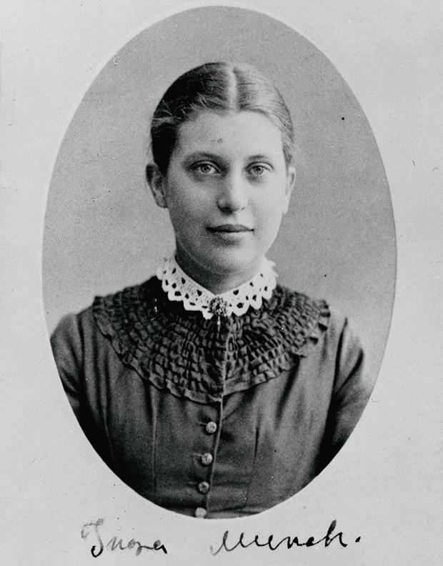 Сестра художника Ингер Мунк