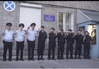 Сибирские полицейские сняли клип про свою работу. И он очень странный (видео)