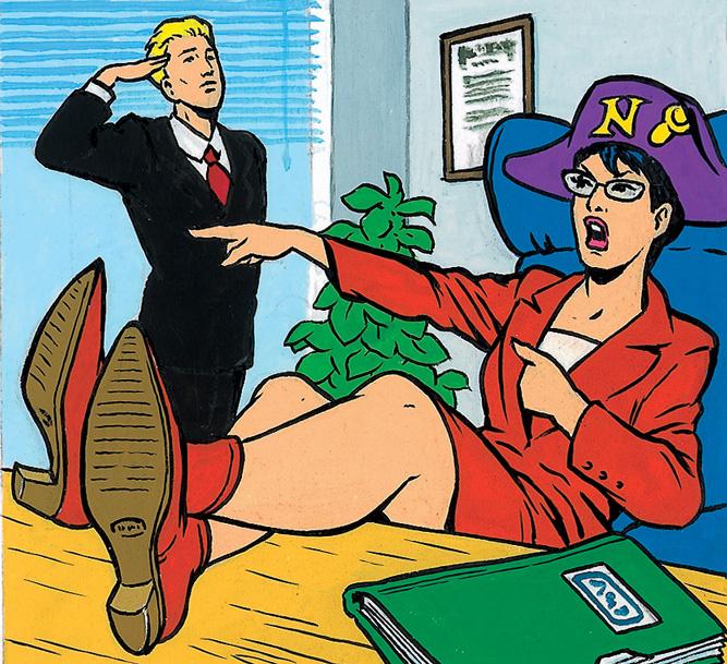 Фото №2 - Как вести себя с начальством, если оно — женщина