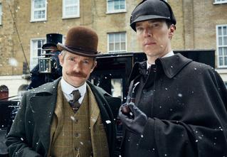 Начались съемки нового сезона «Шерлока»