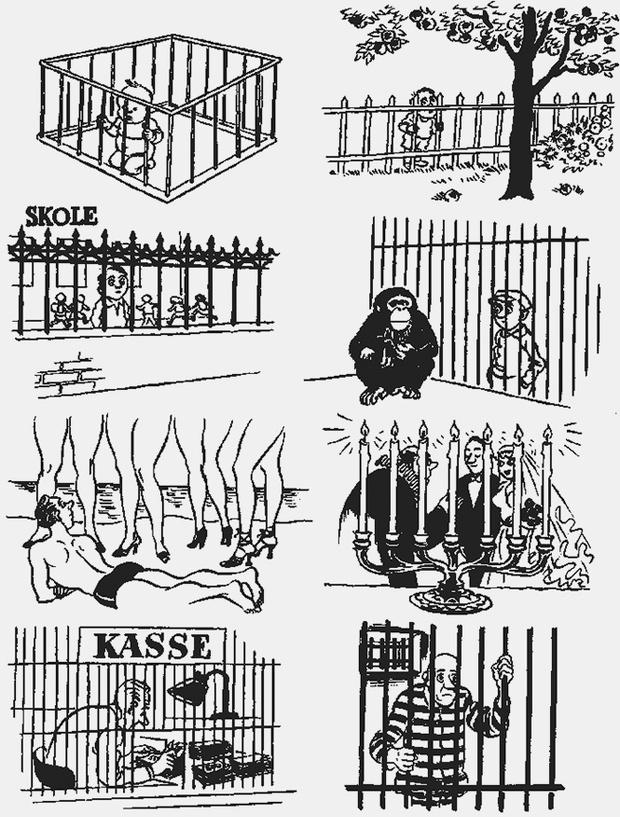 Фото №5 - Над чем смеялись наши отцы: карикатуры Херлуфа Бидструпа