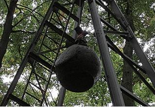4-тонная сферическая хрень для создания искусственного землетрясения!