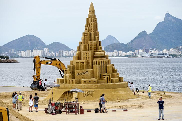 12,59 м чистого песка без арматуры