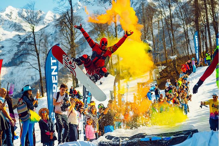 Фото №2 - 1 апреля 20 000 человек пошутят в Сочи с олимпийским размахом