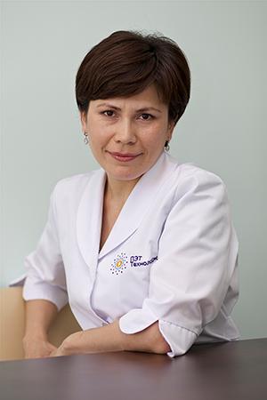 Шарипова Наиля Саматовна, врач-радиотерапевт центра ядерной медицины«ПЭТ-Технолоджи»