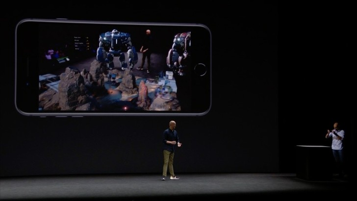 На сцене только что в многопользовательскую игру в дополненной реальности! Новая веха в коллективных играх