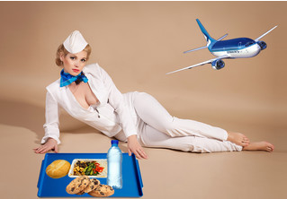 Два блюда, которые безопасно есть в самолете (по мнению авиа-шеф-повара)