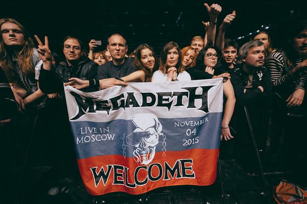 Фото №2 - Megadeth подняли температуру в Москве — посмотри и приобщись!