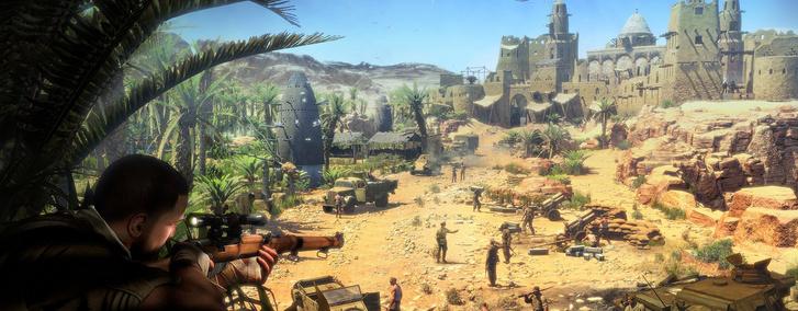 Фото №2 - 5 веских причин играть в Sniper Elite III и убить там всех фашистов