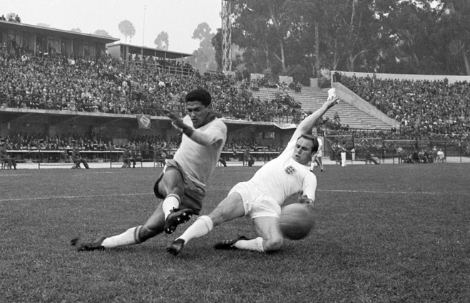 Гарринча в сборной Бразилии