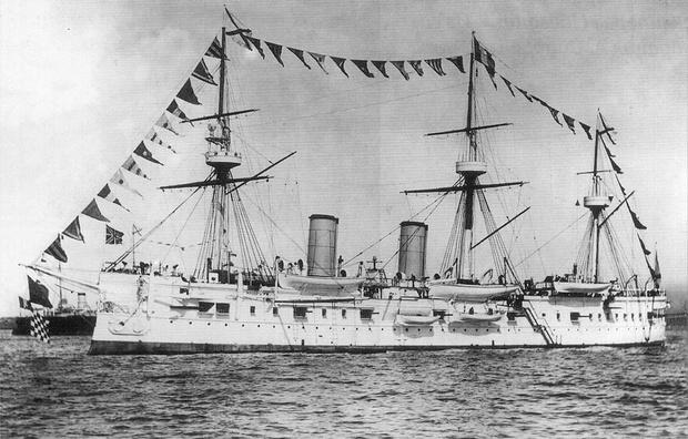 Броненосный крейсер «Дмитрий Донской»