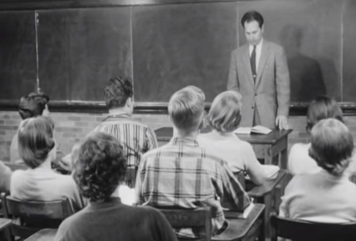 Фото №1 - «Моя жена в Сибири»: американцы учат русский язык в 1960 году (видео)