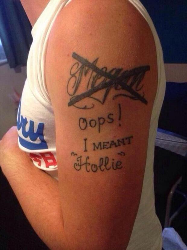 Фото №3 - 10 попыток исправить татуировки с именами и лицами бывших