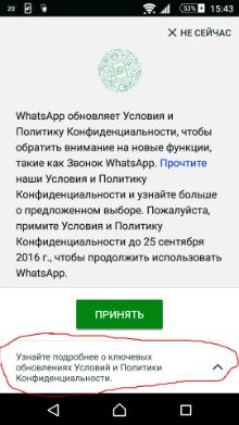 Фото №1 - Как сделать, чтобы WhatsApp не делился твоими данными с Facebook