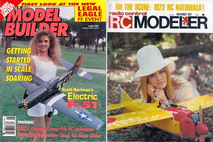 Фото №1 - Времена, когда авиамоделирование было сексуальным!