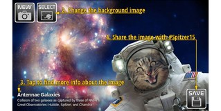 NASA выпустило приложение для съемки селфи в космосе