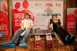 Фото №2 - Донорская эстафета от LG