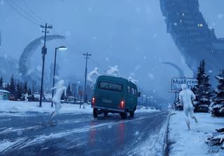 18 картин Стефана Койдла — художника, который умеет красиво пугать
