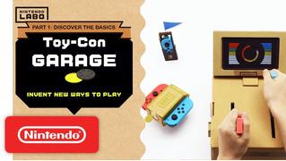Как выглядит Nintendo Labo: картонный конструктор примочек для Switch (ВИДЕО)