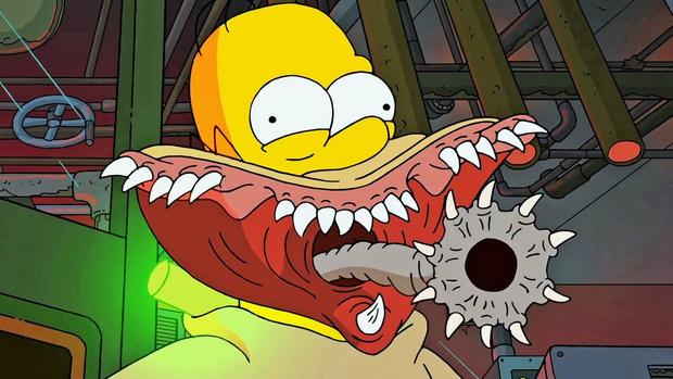 Фото №1 - Хеллоуин-2016 с Симпсонами: лучшие вступительные ролики к эпизодам-ужасов