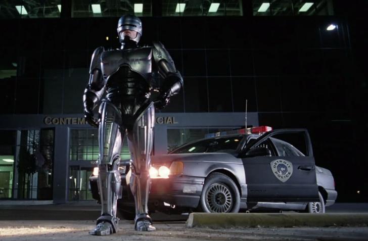 Фото №2 - На пути к Робокопу: Ford запатентовал автономную полицейскую машину