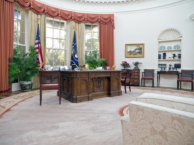 Фото №3 - 5 фактов об Овальном кабинете
