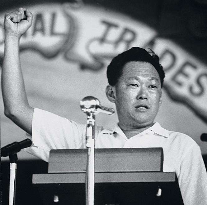 Ли Куан Ю, премьер-министр Сингапура, 1965 г.