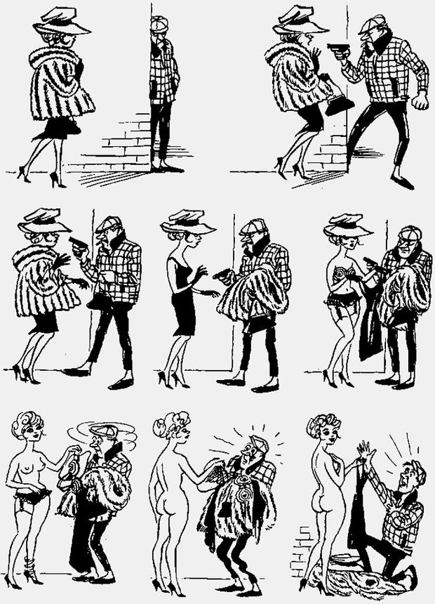 Фото №3 - Над чем смеялись наши отцы: карикатуры Херлуфа Бидструпа