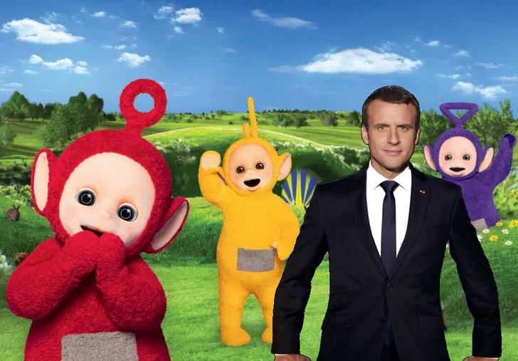 Фото №7 - Лучшие фотожабы на президента Франции Эммануэля Макрона!