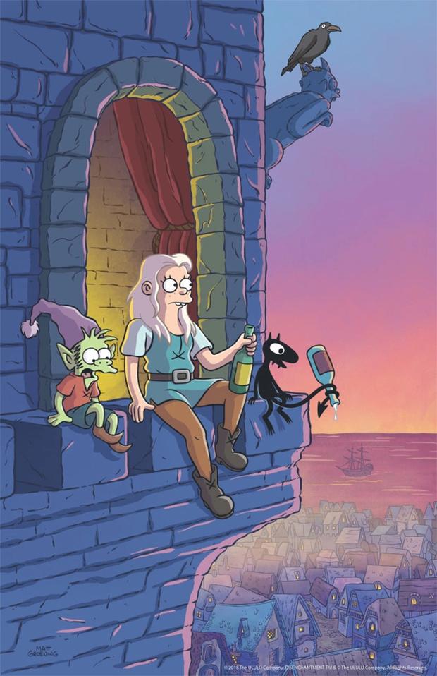Фото №5 - Анонсирован новый мульт от создателя «Симпсонов» и «Футурамы»