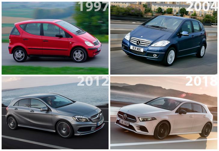 Фото №2 - Это не фантастический фильм, а новый Mercedes A-Class