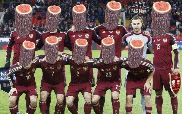 Фото №5 - Лучшие шутки о поражении наших футболистов. Часть 3