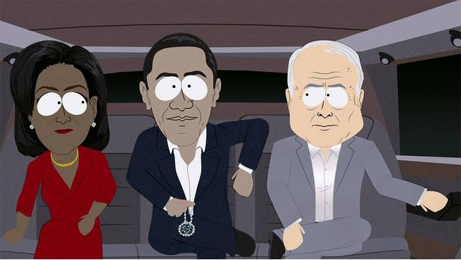 Как мультсериал «Южный Парк» стебался над Дональдом Трампом и другими американскими президентами