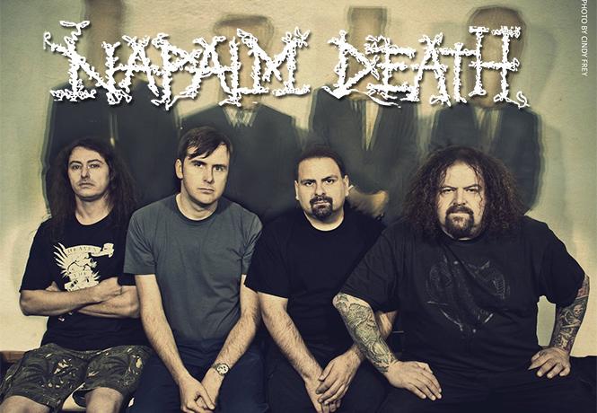 Фото №1 - 5 причин заглянуть на огонёк группы Napalm Death