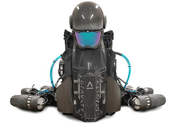 Фото №2 - Реактивный костюм Jet Suit и другие мужские гаджеты месяца