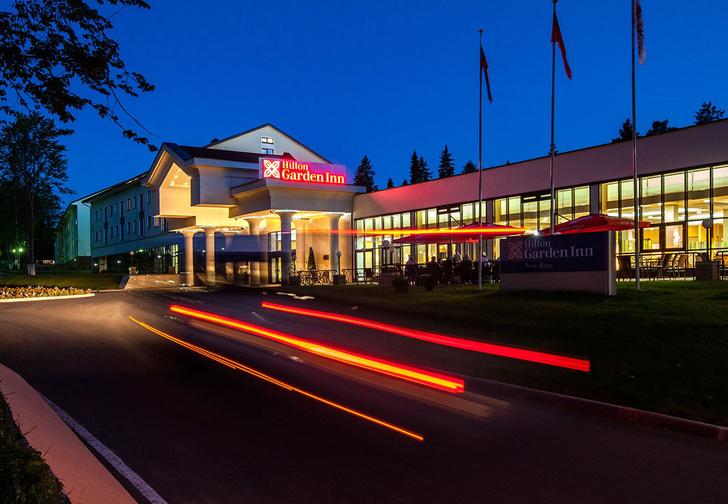 Фото №1 - Hilton Garden Inn — четырехзвездочные 14 гектар!