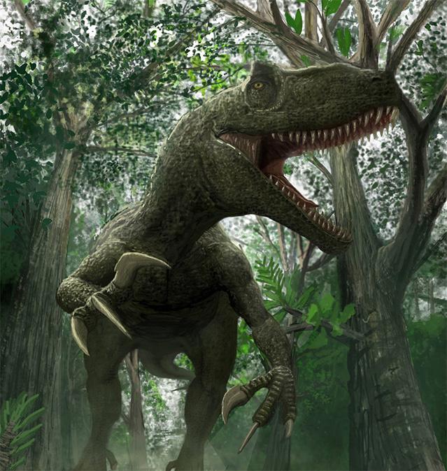 Секс девушек и динозавра