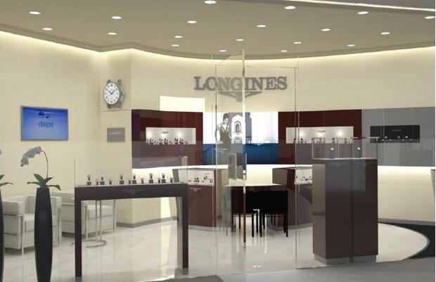 Фото №1 - Первый московский бутик Longines