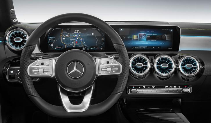 Фото №13 - Это не фантастический фильм, а новый Mercedes A-Class