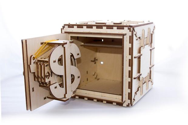 3D-конструктор Сейф Ugears