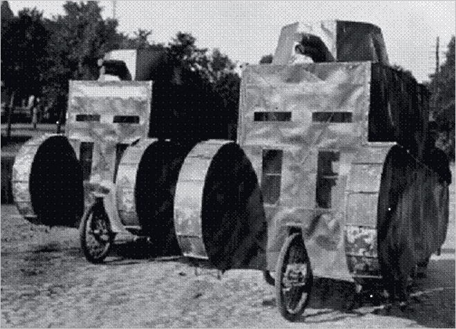 Фото №14 - Бесславные ублюдки: самые уродливые танки, созданные за всю историю вооружений