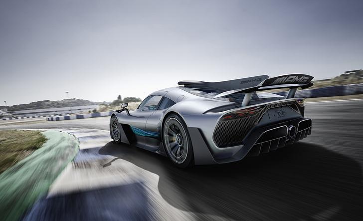 Фото №3 - Mercedes-AMG One: слушайся и повинуйся